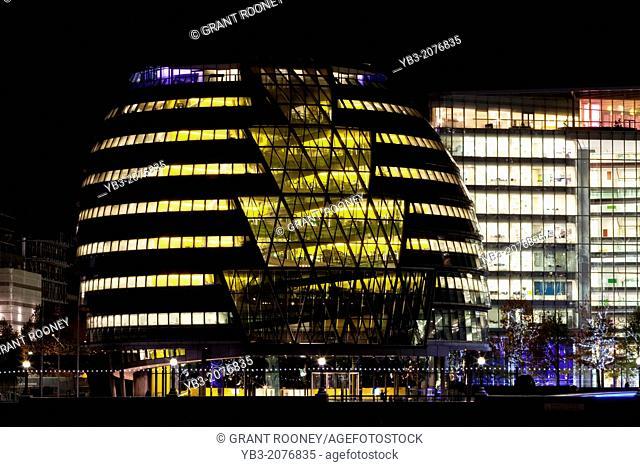 City Hall and More London Development, London, England