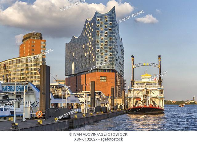 Elbphilharmonie (2017), Elbe Philharmonic Hall, HafenCity, Hamburg, Germany