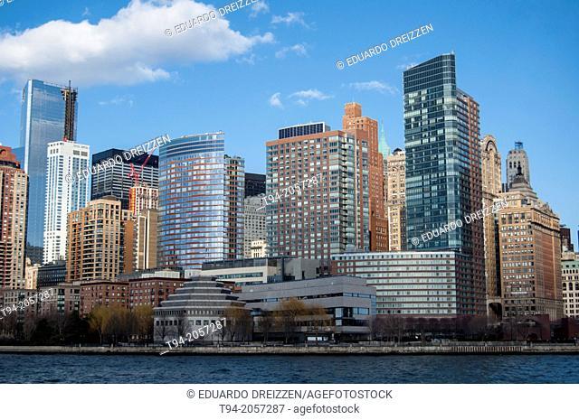Lower Manhattan panorama, New York City