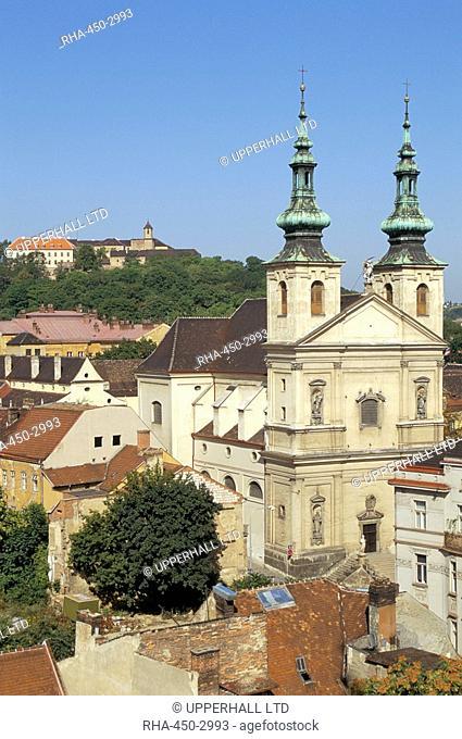 Church of Poor Clares, Castle, Bratislava, Slovakia, Europe