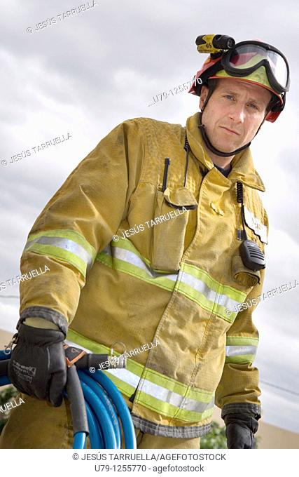 Spain fireman service