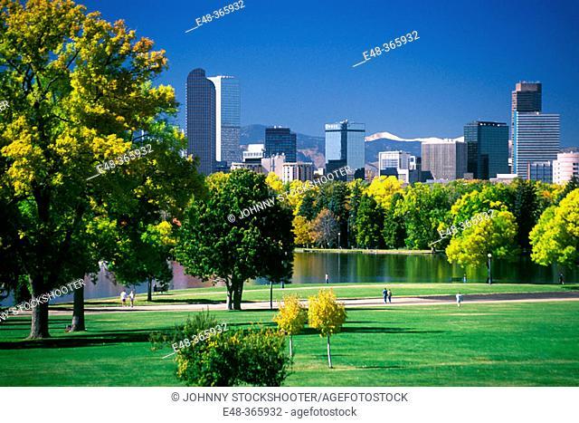 City Park. Denver. Colorado, USA