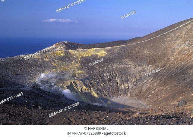Aeolian Islands, Vulcano, small volcanic island  Italy, Europe