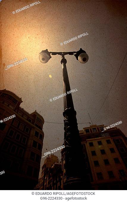 streetlamp, Valencia