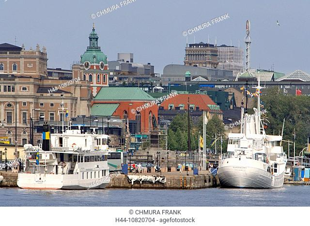 Baltic Sea, Boat, Boats, castle, Castles, Cities, City, Cityscape, Cityscapes, Color, Colour, Day, Daytime, Europe, Ex