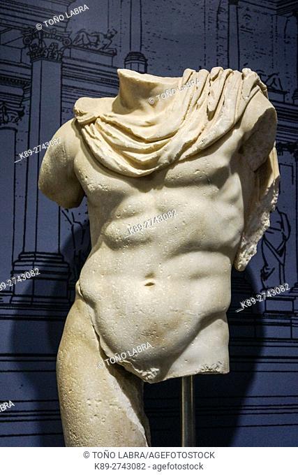 Satyr (I Century AD). Ephes Museum. Classic Greek Collection. Asia Minor. Turkey