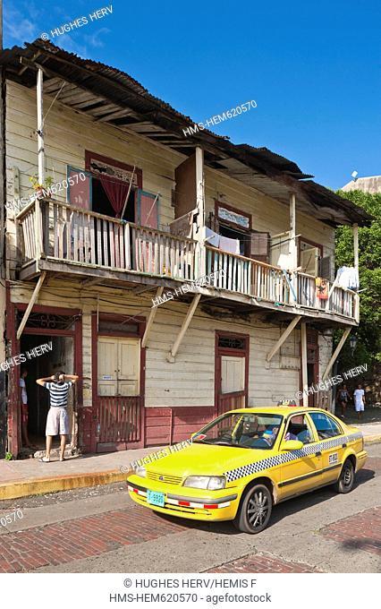 Panama, Panama City, historic town listed as World Heritage by UNESCO, Casco Antiguo, Barrio San Felipe