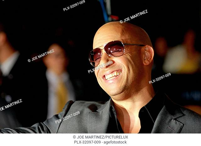 Vin Diesel at the World Premiere of Universal Pictures' Riddick. Arrivals held at Regency Village Theater in Westwood, CA, August 28, 2013