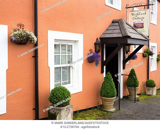 Highland Cottage Hotel and Restaurant in Tobermory Isle of Mull Argyll and Bute Scotland
