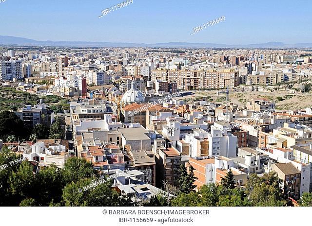 Cityscape, Cartagena, Costa Calida, Murcia, Spain, Europe