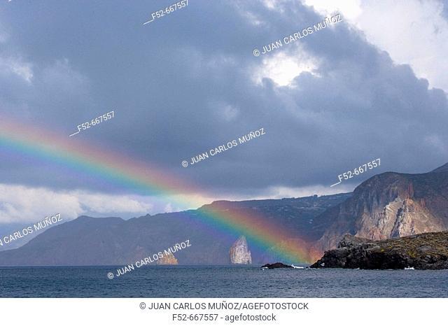 Lipari Island. Eolie Island. Sicily. Italy