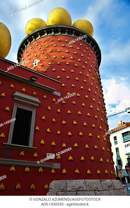 Salvador Dalí Theater-Museum, Foundation Gala-Salvador Dalí, Figueres, Alt Empordá, Costa Brava, Girona Province, Catalonia, Spain