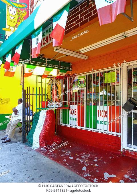 Mexican Shop. Calle Ocho. Miami. Florida. USA