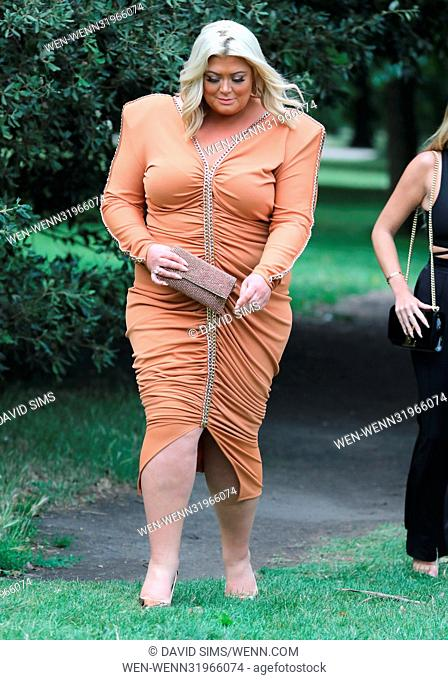 ITV Summer Reception at The Orangery at Kensington Palace - Arrivals Featuring: Gemma Collins, Georgia Kousoulou Where: London