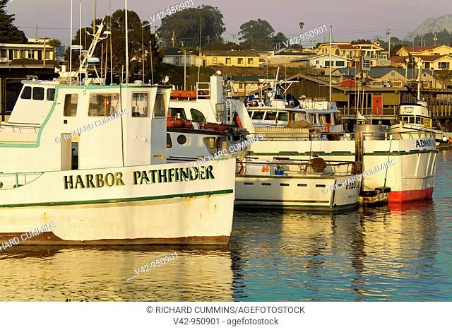 Fishing Boats,City of Morro Bay,San Luis Obispo County,California,USA