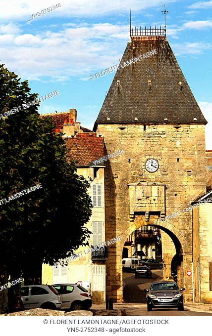 Noyers sur Serein, Yonne (89), Burgundy, scenery on the village