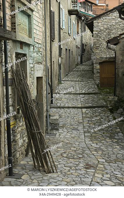 A Narrow Street of Old Lugano