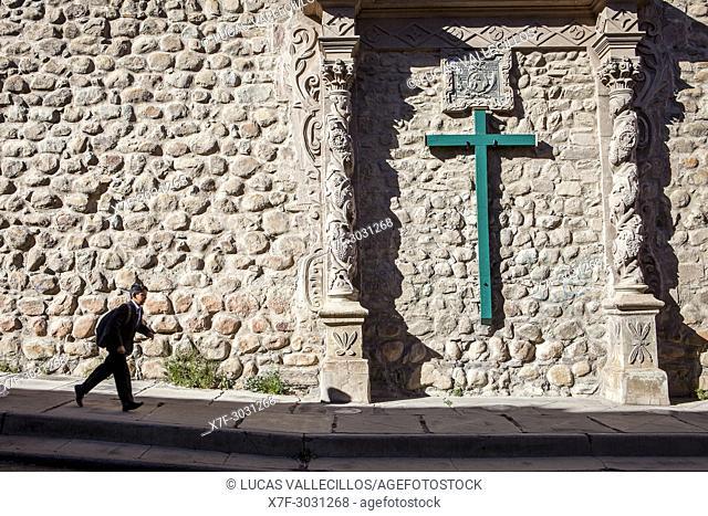 Facade of San Francisco church, Potosi, Bolivia
