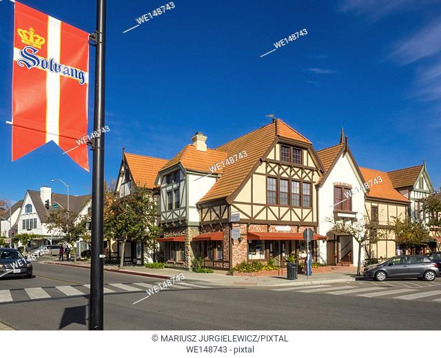Solvang is a city in Santa Barbara County, California. It is located in the Santa Ynez Valley