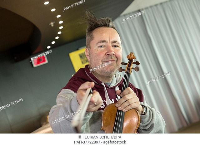 NIGEL KENNEDY IN BERLIN (2/26/2013) - Newsworthy Images at