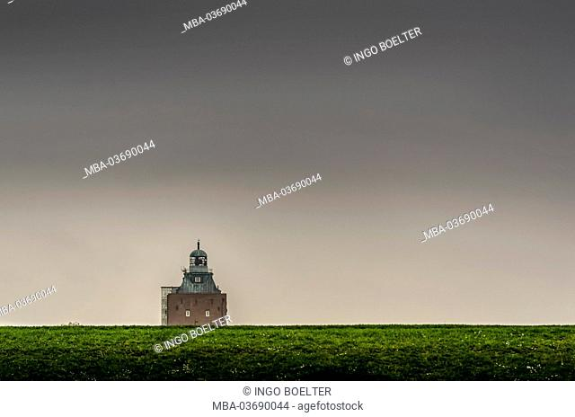 Germany, Hamburg, Neuwerk (district), lighthouse