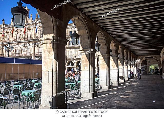 Arcos de la Plaza Mayor, Salamanca