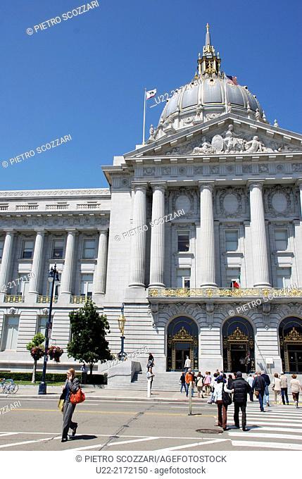 San Francisco, California, U.S.A., the City Hall