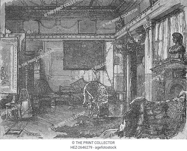 'Alma Tadema's Former Studio', 1890. Artist: William Hatherell