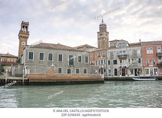 Venice, Veneto, Italy: The lagoon from Murano island
