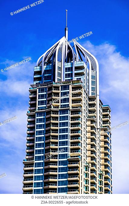 Supertall skyscraper at Dubai Marina, Dubai, UAE