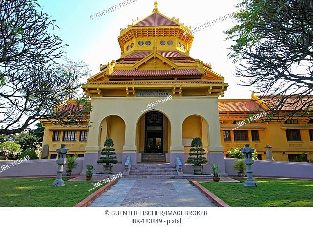 Historical museum, Hanoi, Vietnam