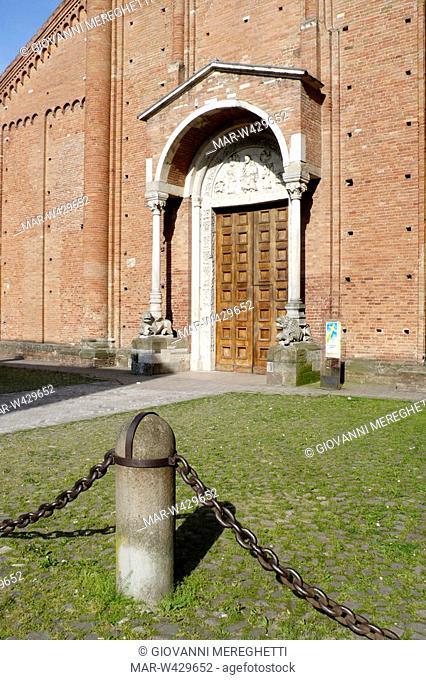 abbazia di san silvestro, nonantola, emilia romagna, italia