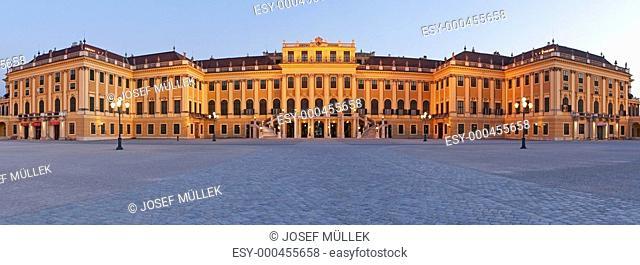 Wien bei Nacht, Schloss Sch&amp,65533,önbrunn