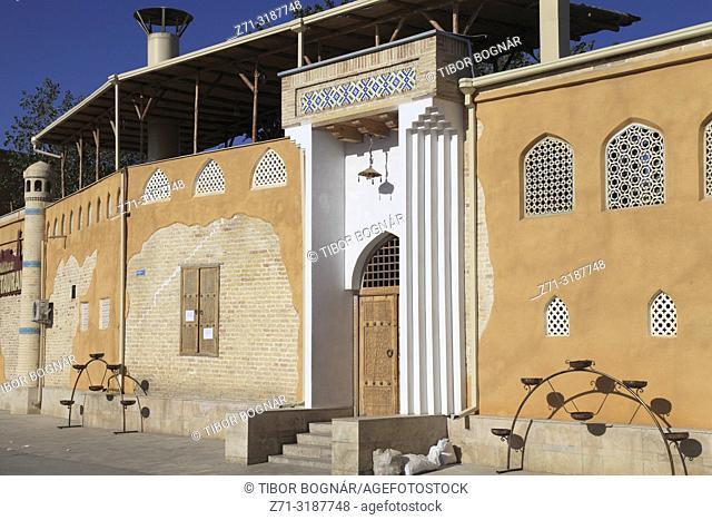Uzbekistan; Bukhara; Old Bukhara Restaurant,