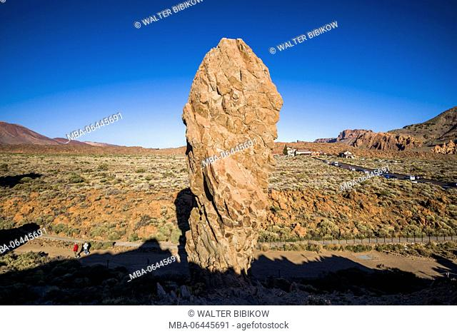 Spain, Canary Islands, Tenerife, Parque Nacional del Teide, Los Roques, rock formations
