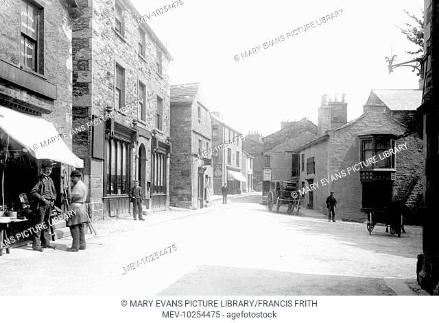 Sedbergh, Market Place 1894