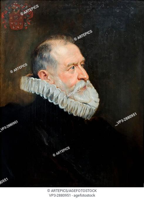 Peter Paul Rubens - Portrait of an aged man - 1625 - XVII th Century - Flemish School - Gemäldegalerie - Berlin