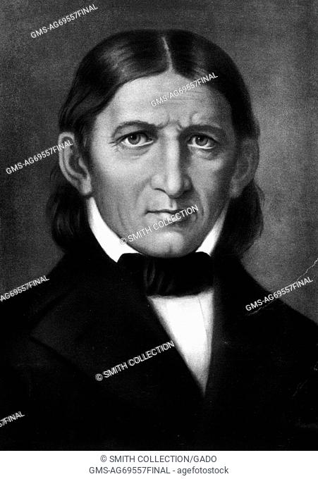 An engraving from a portrait of Friedrich Fr??bel, he was a German educational theorist who is seen as a central figure in the creation of the modern...
