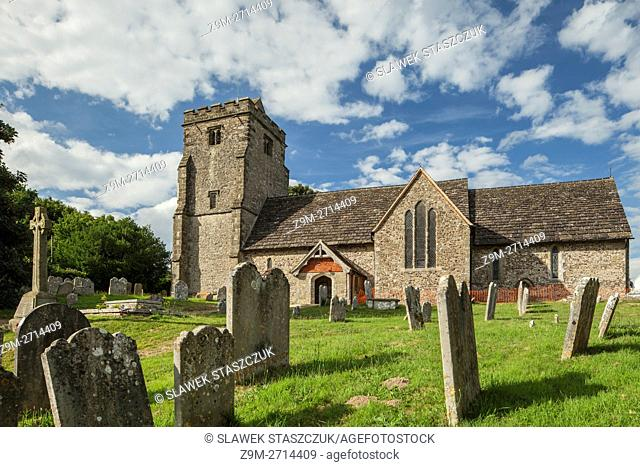 St Mary's church in Thakeham village, England