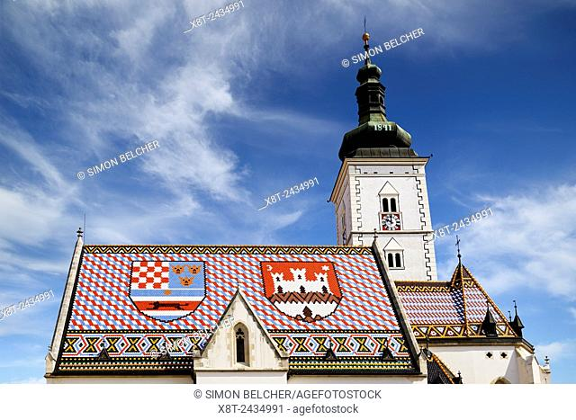 St Mark's Church, Zagreb, Croatia