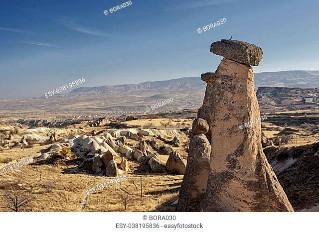 Rock formation in Capadocia turkey