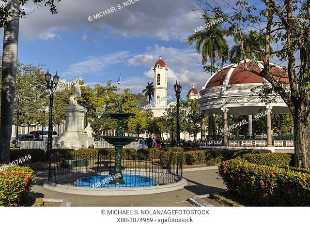 Catedral de la Purísima Concepción from Parque José Martí , Cienfuegos, Cuba