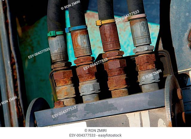 Industrial Details Background
