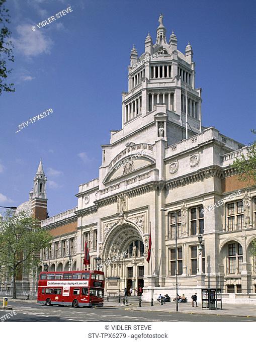 England, United Kingdom, Great Britain, Holiday, Landmark, London, Tourism, Travel, Vacation, Victoria and albert museum