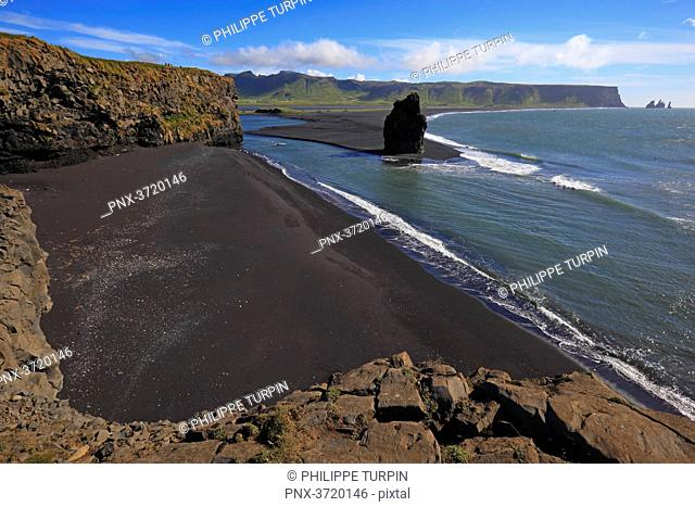Iceland, Sudurland.Dyrholaey