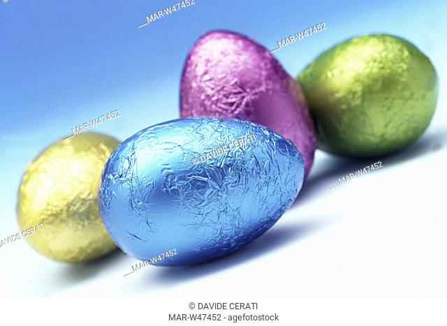 celebrations, easter, chocolate eggs
