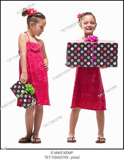 Jealousy among twin sisters