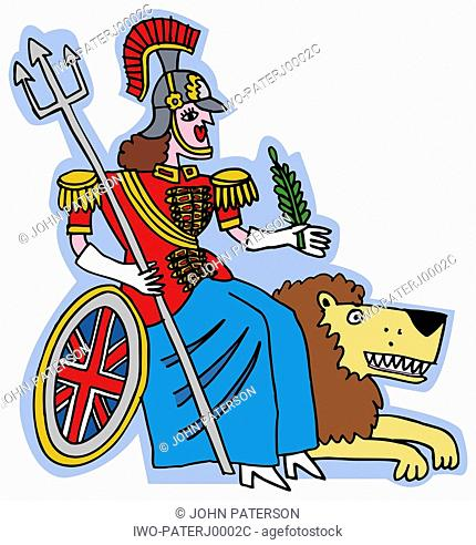 Roman Soldier with Lion