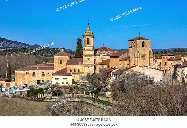 Spain, Burgos Province, Santo Domingo de Silos Monastery