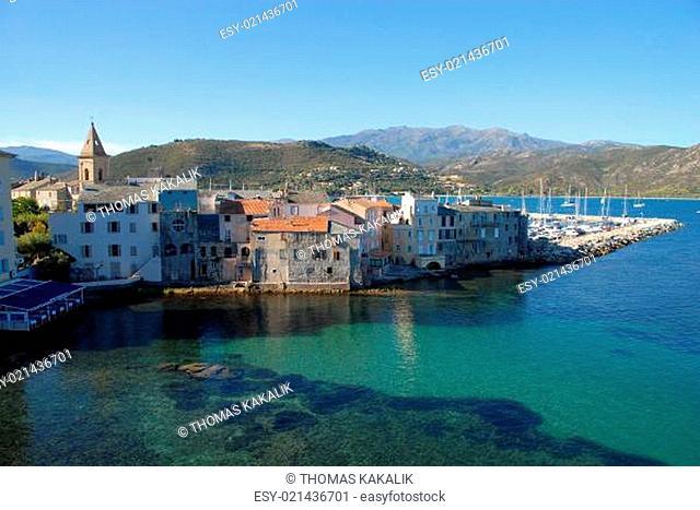 Hafenstadt Saint Florent auf Korsika